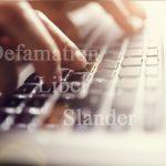 Defamation Libel Slander